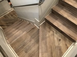 Aged Hickory install in Fargo, ND.